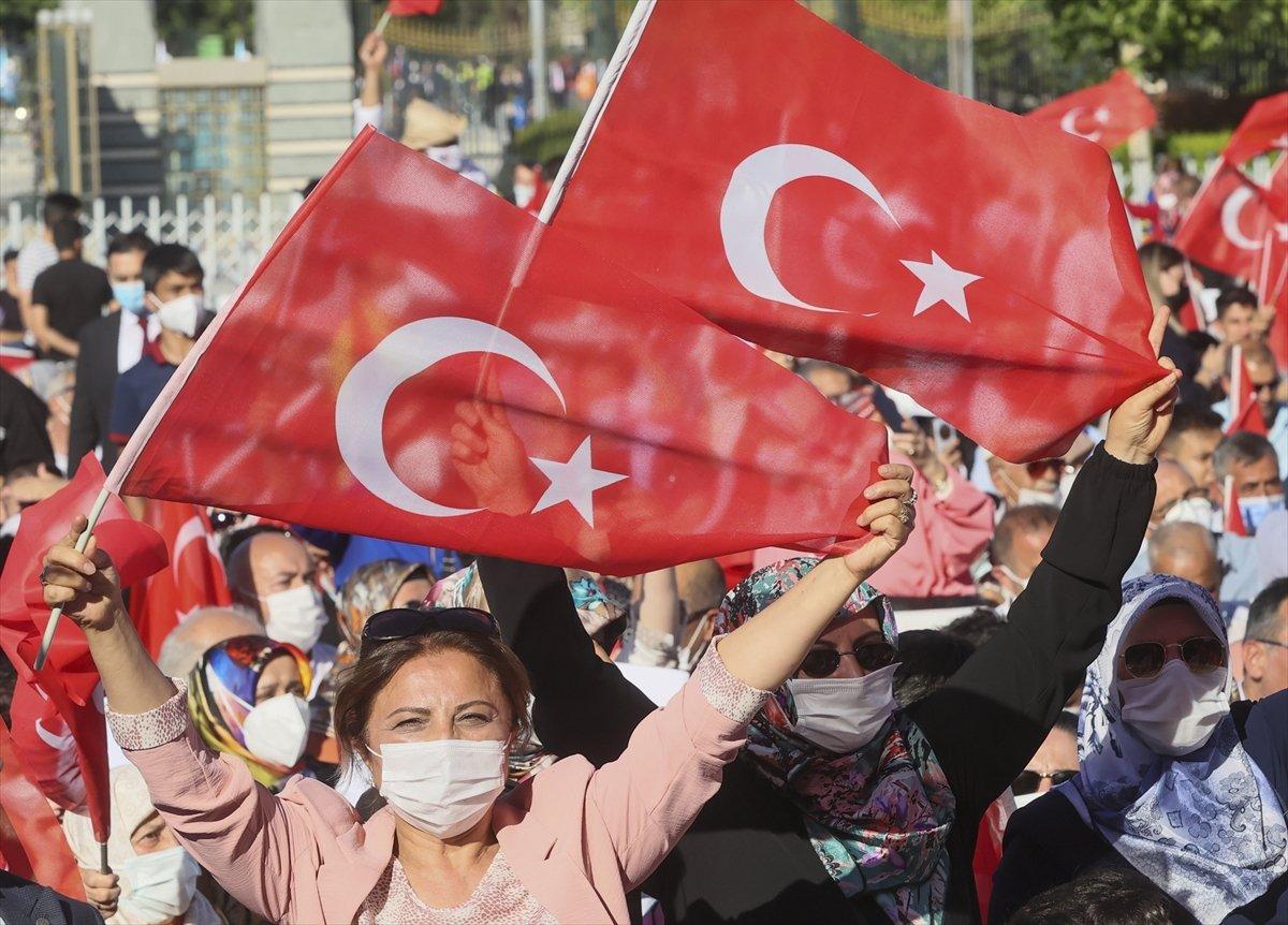 Cumhurbaşkanı Erdoğan: Millete silah çekenin affı olmaz #4
