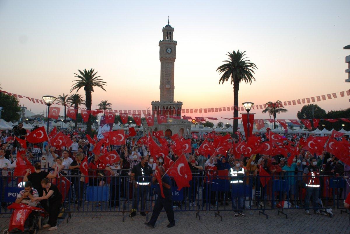 İzmir de 15 Temmuz etkinliği #2