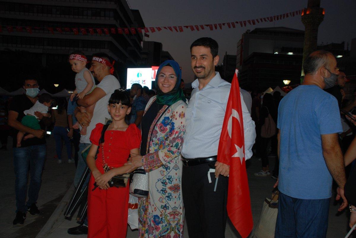 İzmir de 15 Temmuz etkinliği #1