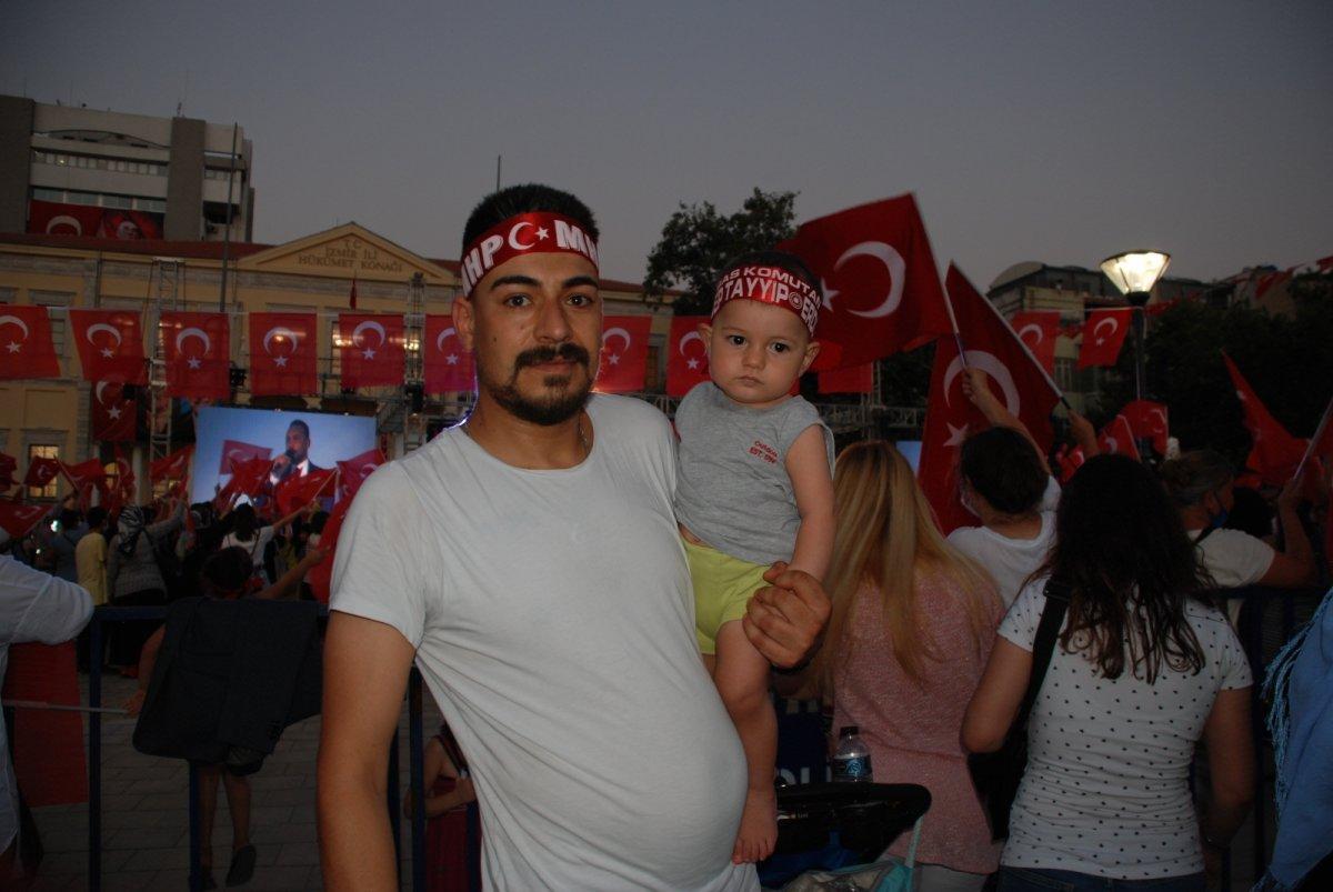 İzmir de 15 Temmuz etkinliği #4
