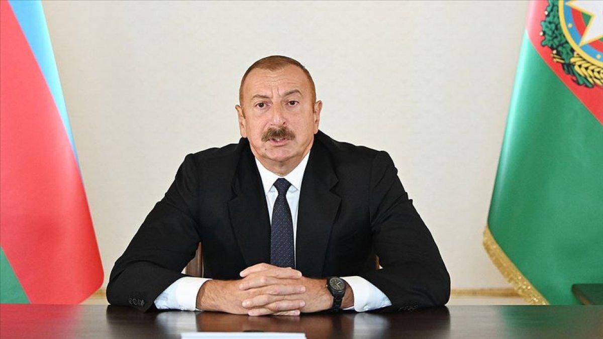 İlham Aliyev den  15 Temmuz  mesajı #1