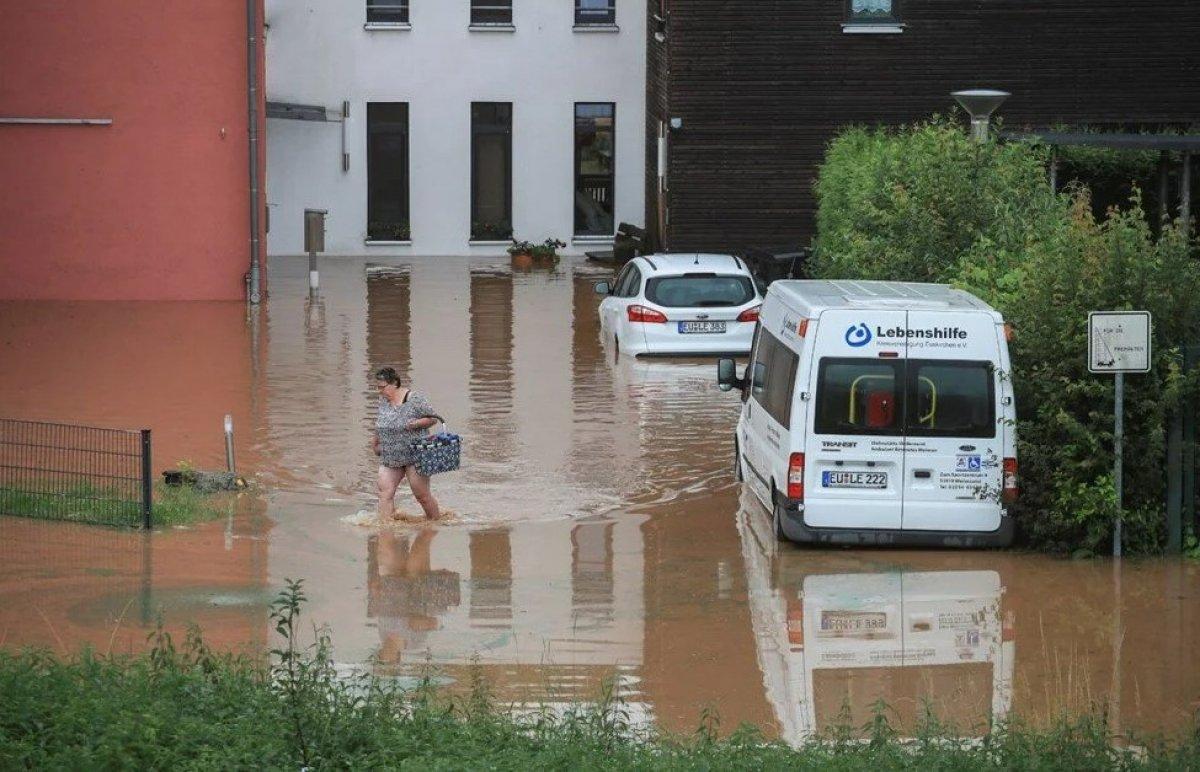 Almanya'da sel felaketi: 59 ölü #10
