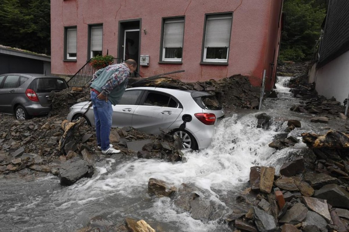 Almanya'da sel felaketi: 59 ölü #3