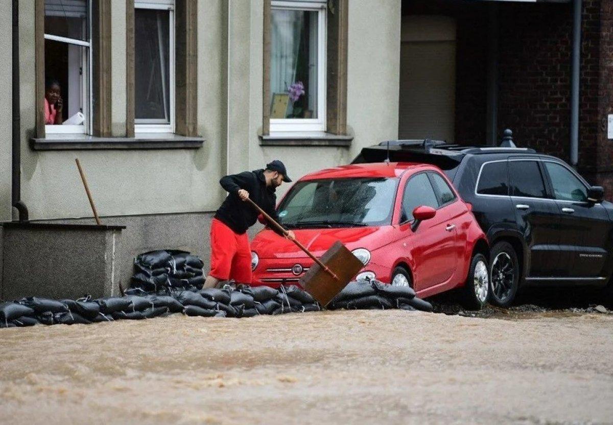 Almanya'da sel felaketi: 59 ölü #8
