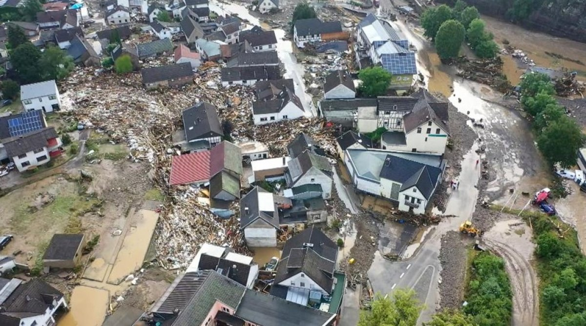 Almanya'da sel felaketi: 59 ölü #2