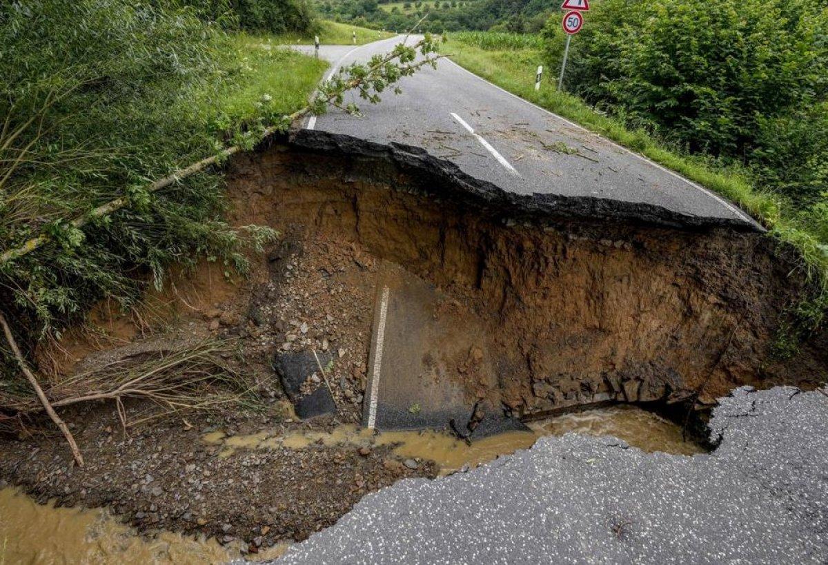 Almanya'da sel felaketi: 59 ölü #4