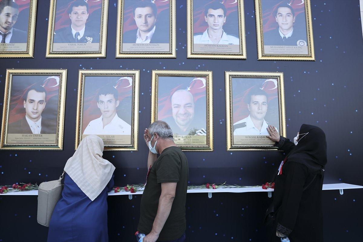 Darbecilerin vurduğu Ankara İl Emniyet Müdürlüğü nde tören #2