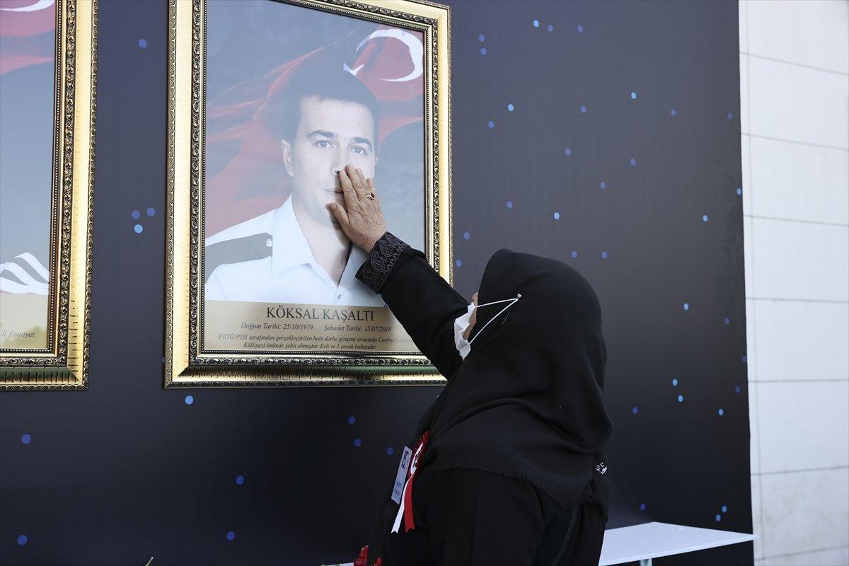 Darbecilerin vurduğu Ankara İl Emniyet Müdürlüğü nde tören #4