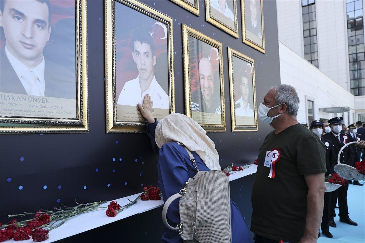 Darbecilerin vurduğu Ankara İl Emniyet Müdürlüğü nde tören #1
