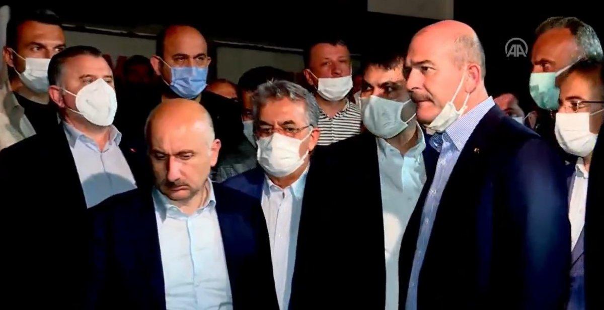 Cumhurbaşkanı Erdoğan ın talimatıyla 3 bakan Rize ye gitti #3