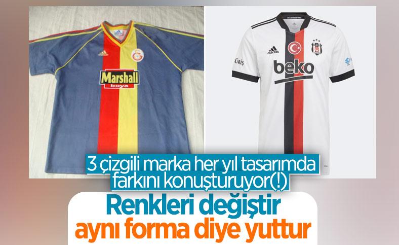 Beşiktaş'ın yeni sezon forması tepki çekti