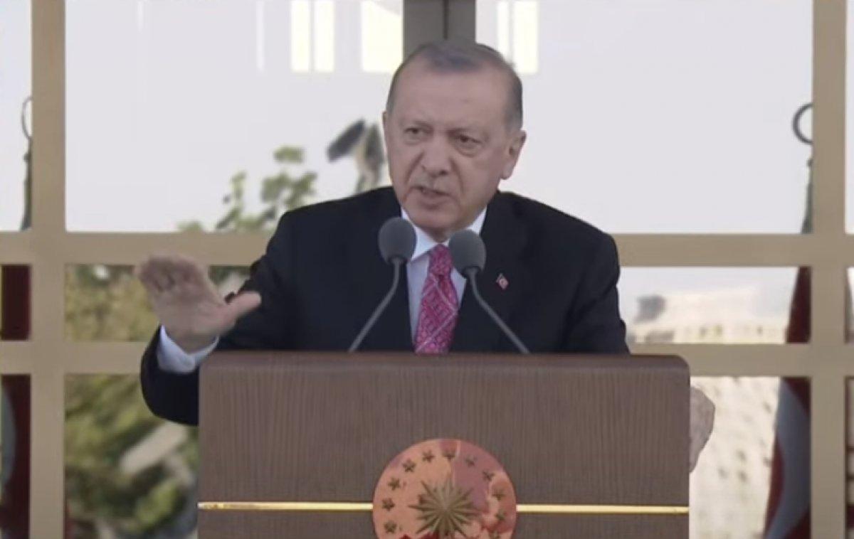 Cumhurbaşkanı Erdoğan: Millete silah çekenin affı olmaz #1