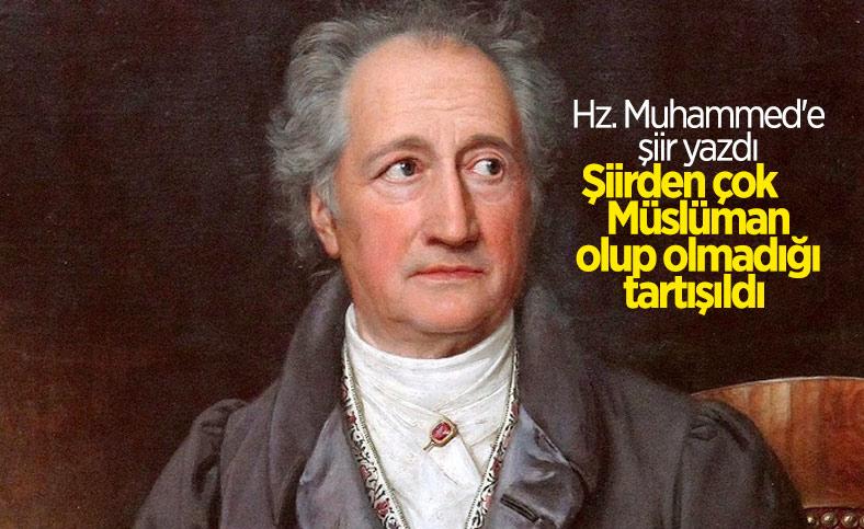 Johann Wolfgang von Goethe'nin Hz. Muhammed için kaleme aldığı şiir