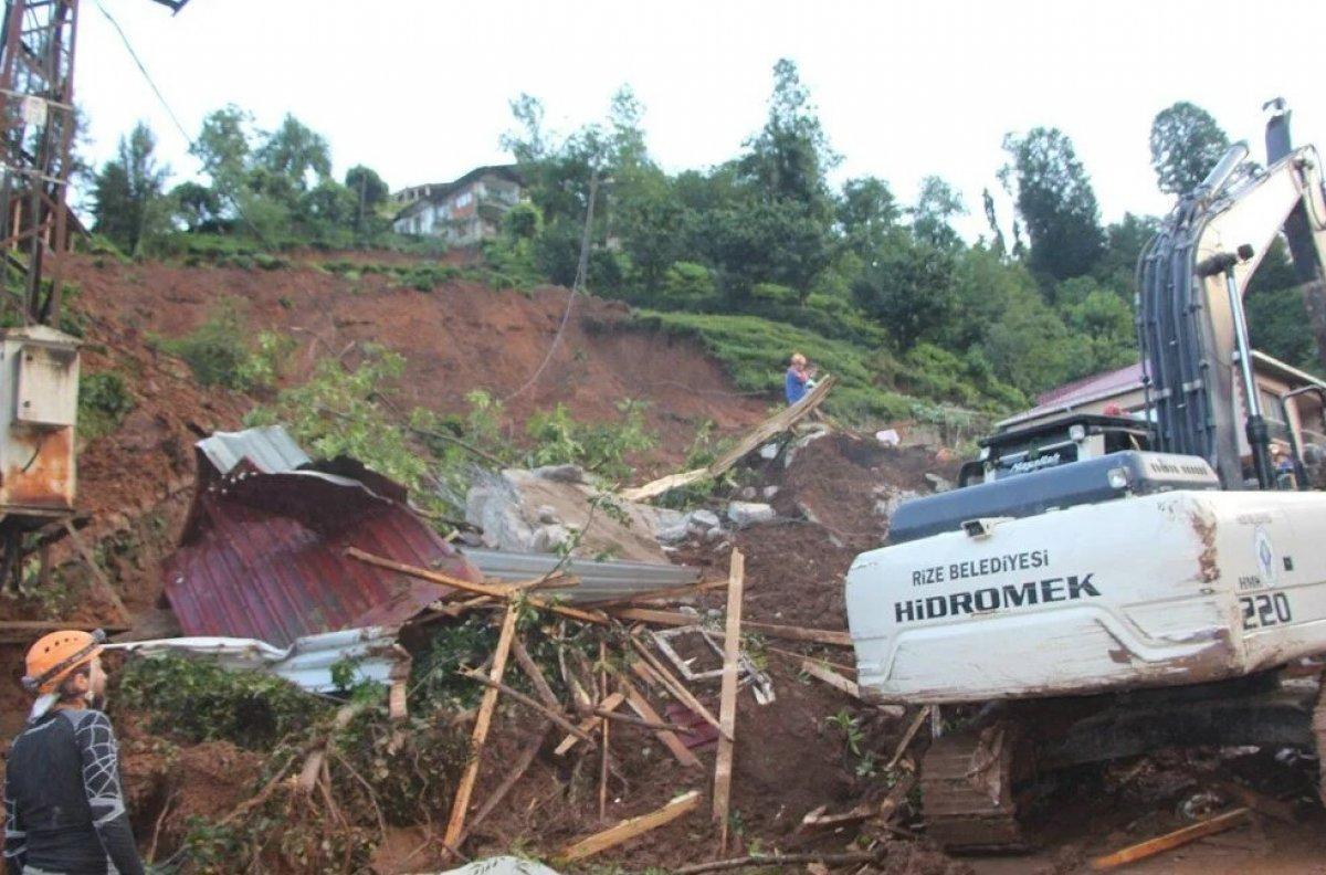 Rize de sel felaketi nedeniyle hayatını kaybedenlerin sayısı #6