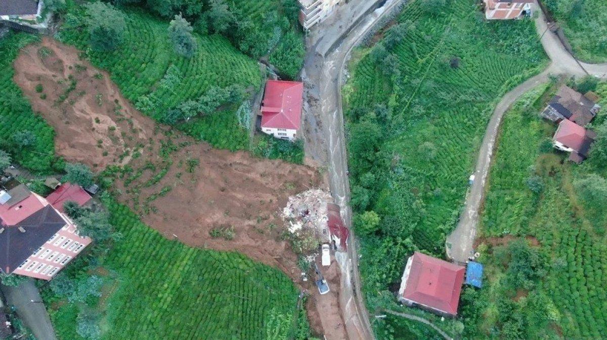 Rize de sel felaketi nedeniyle hayatını kaybedenlerin sayısı #7