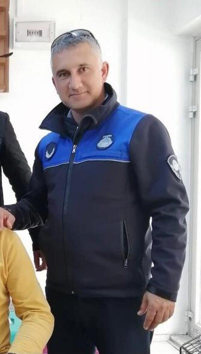 İzmir de zabıta memuru kendisine ceza yazdı #1