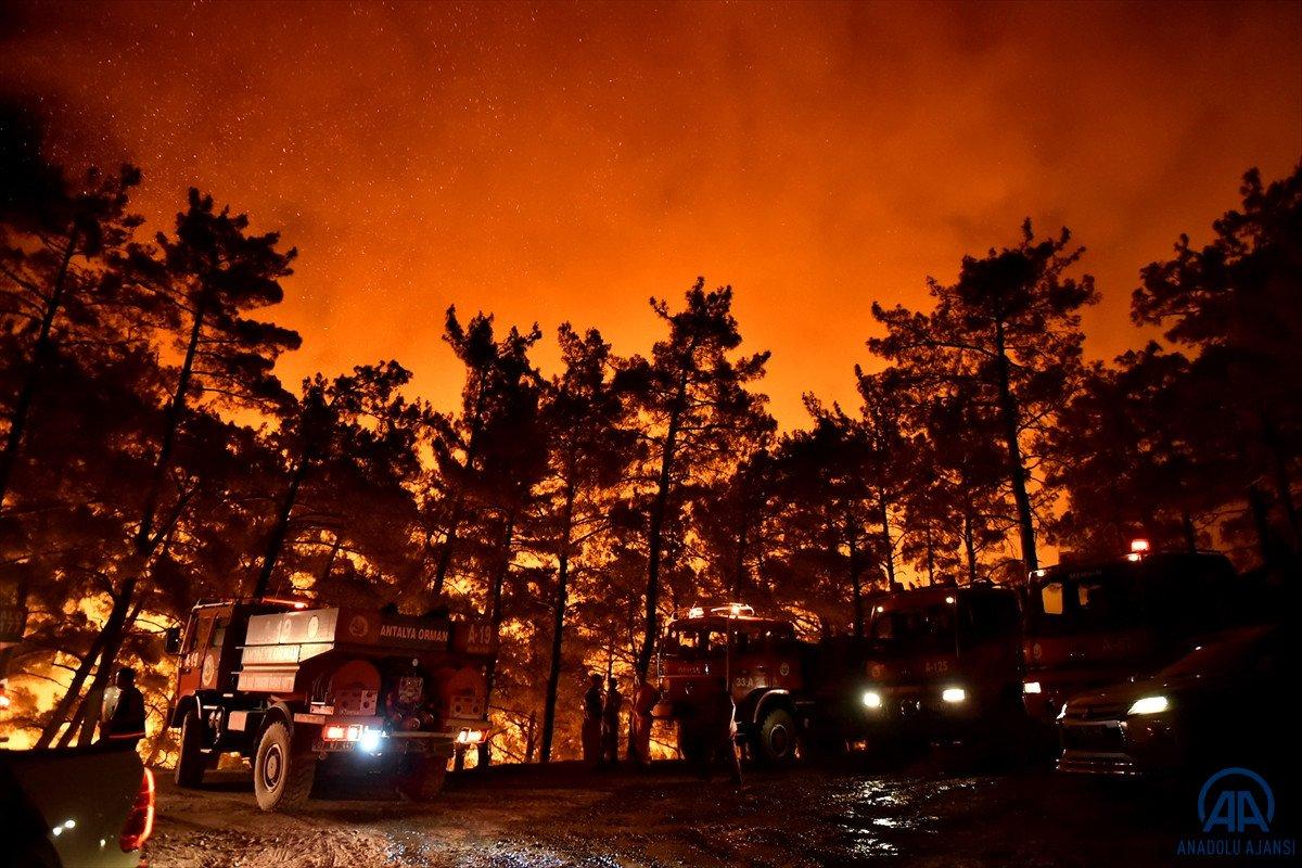 Mersin ve Hatay da orman yangını #6
