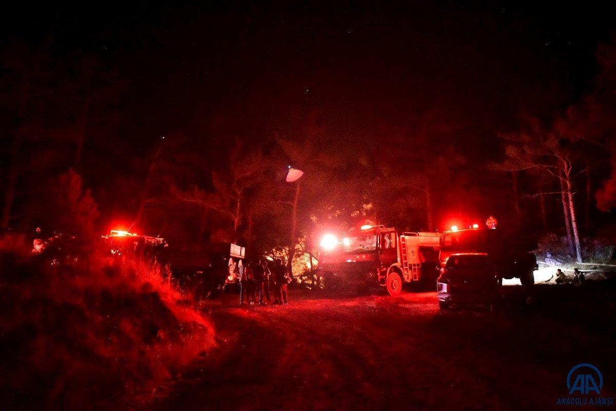 Mersin ve Hatay da orman yangını #10