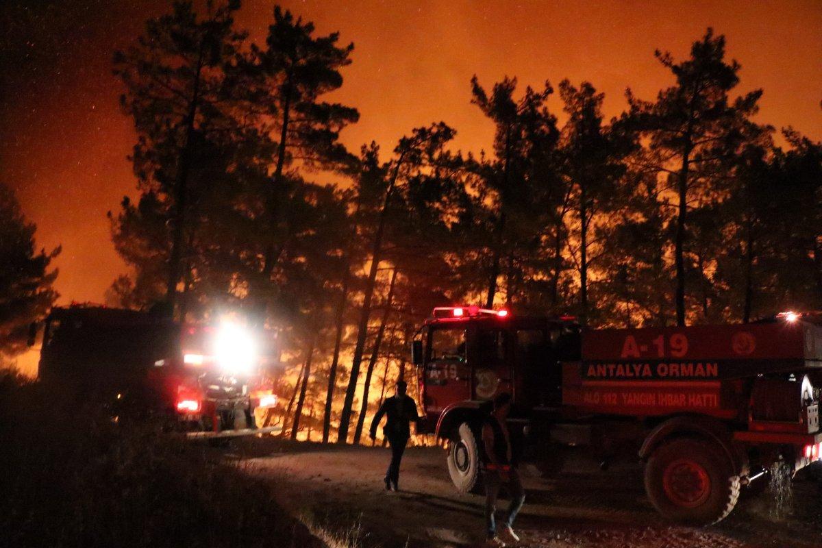 Mersin ve Hatay da orman yangını #3