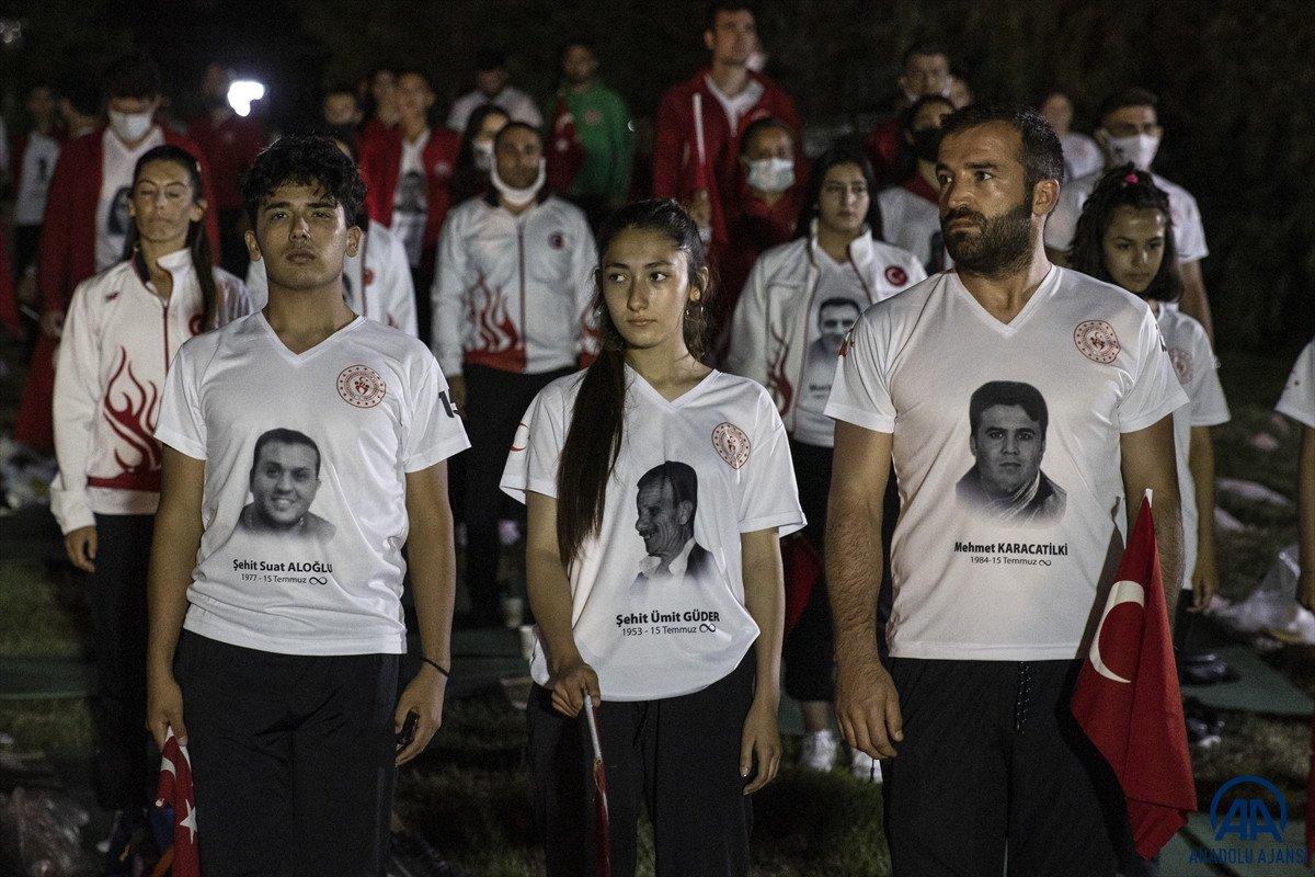 TBMM de milli sporcuların demokrasi nöbeti  #1