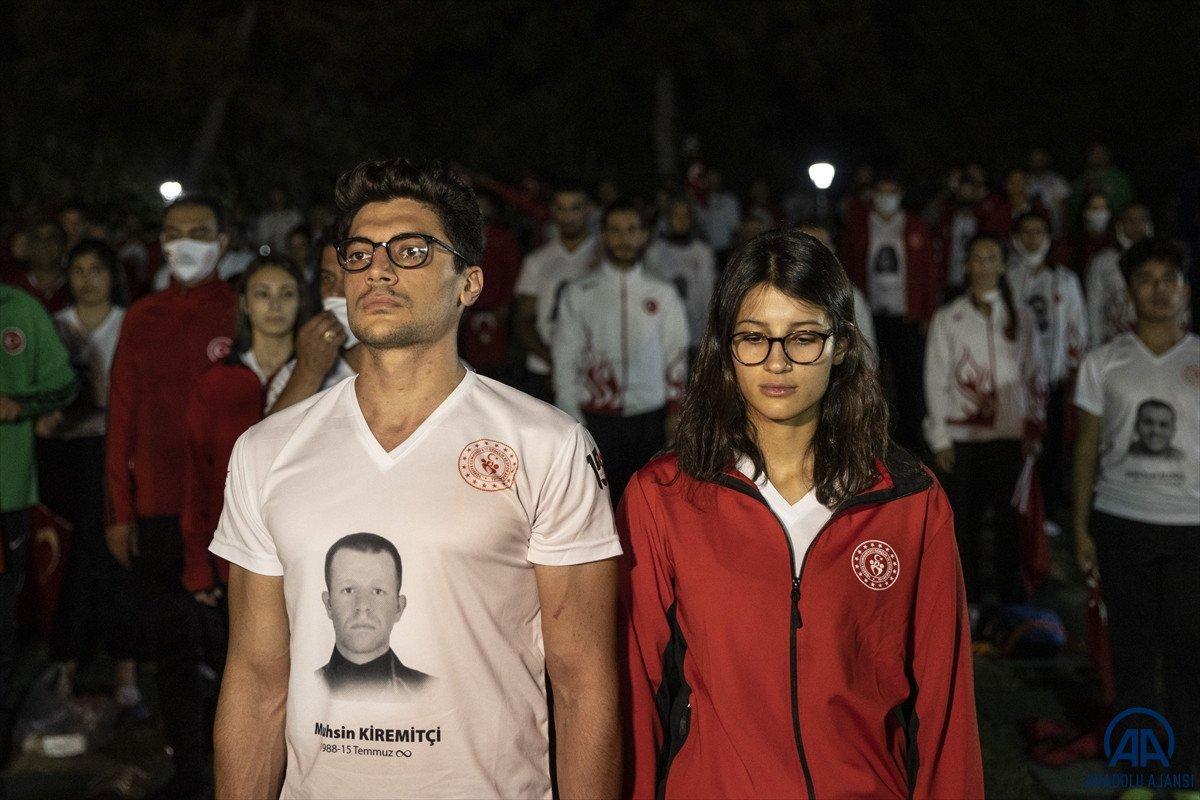 TBMM de milli sporcuların demokrasi nöbeti  #2