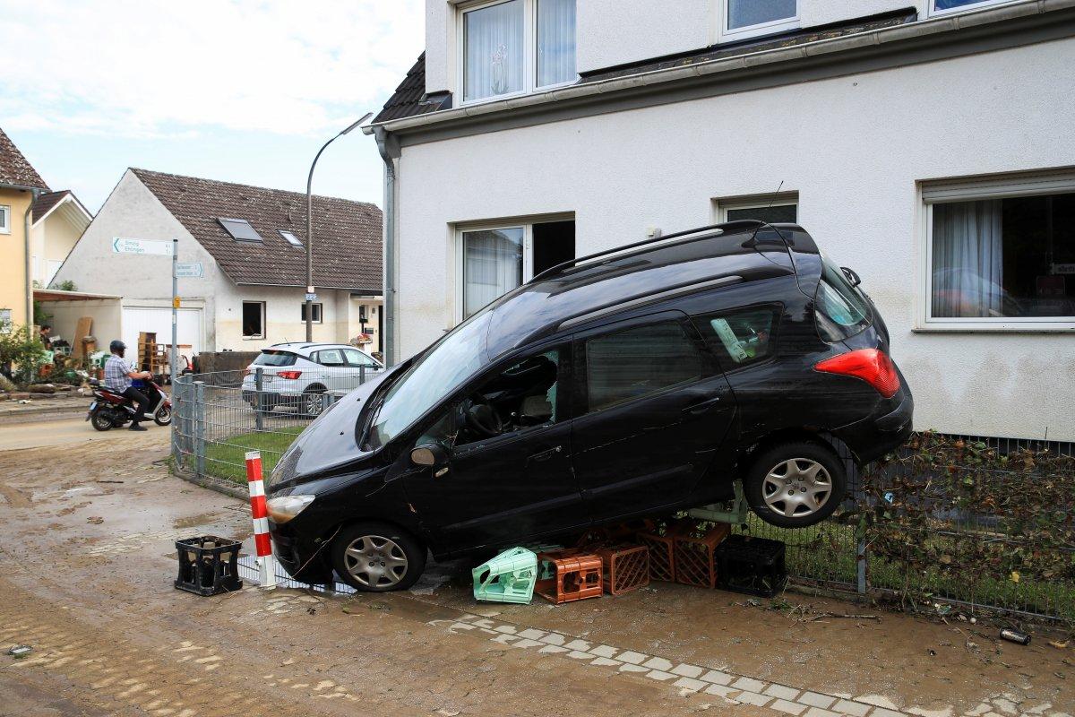 Almanya da sel felaketinin bilançosu #2