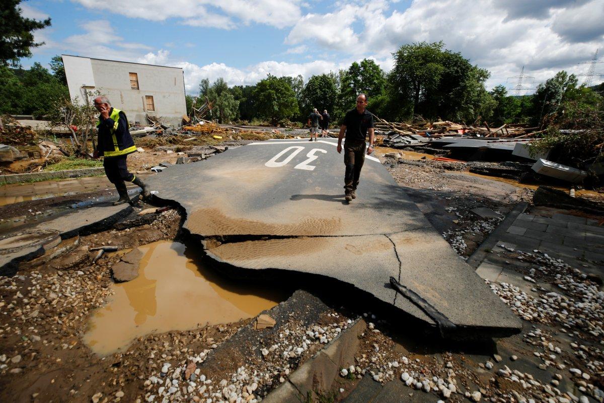 Almanya da sel felaketinin bilançosu #17