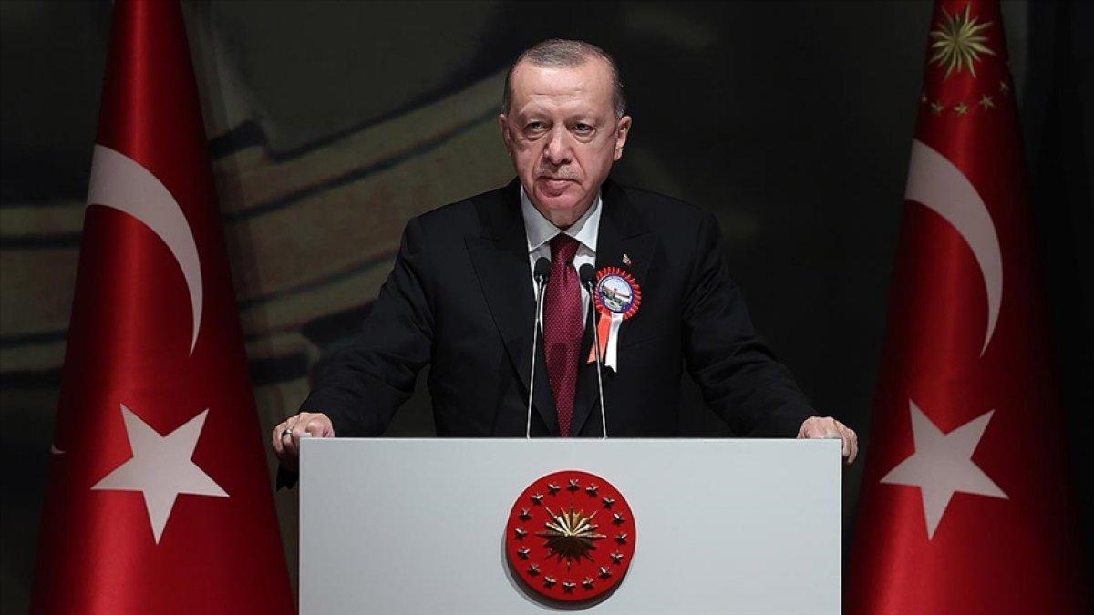Cumhurbaşkanı Erdoğan ın MSÜ Mezuniyet Töreni'ndeki konuşması #1