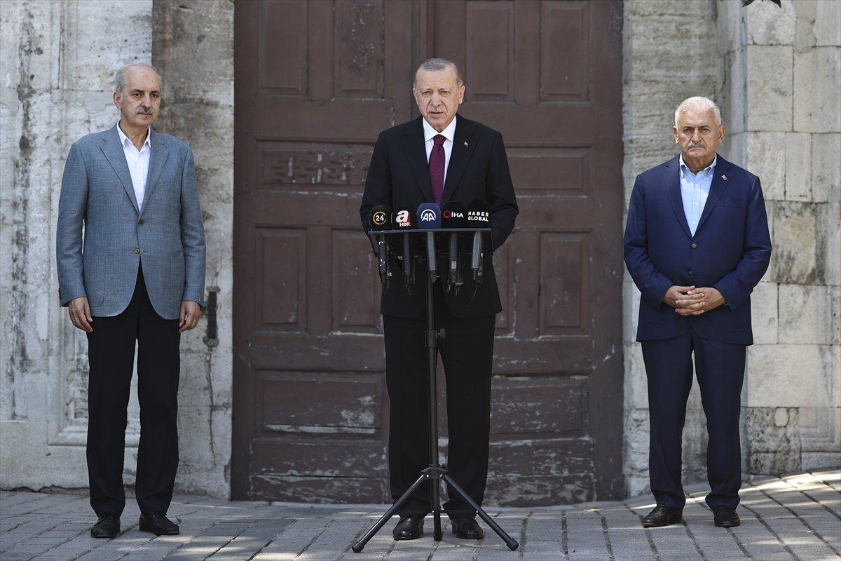 Cumhurbaşkanı Erdoğan: KKTC de bir müjdem olacak #1