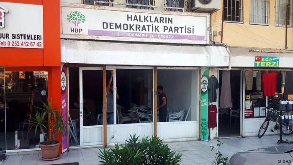 HDP Marmaris ilçe binasına saldırıda FETÖ bağlantısı #2