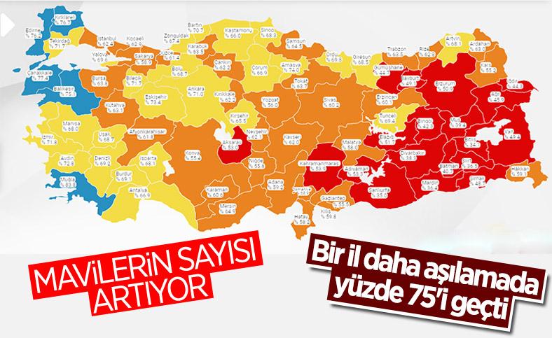 16 Temmuz Türkiye'de koronavirüs tablosu ve aşı haritası