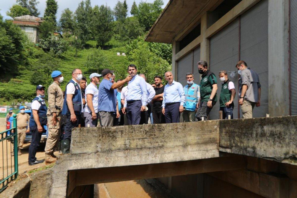 Murat Kurum: Rize de, 24 ağır hasarlı bina tespit ettik #4