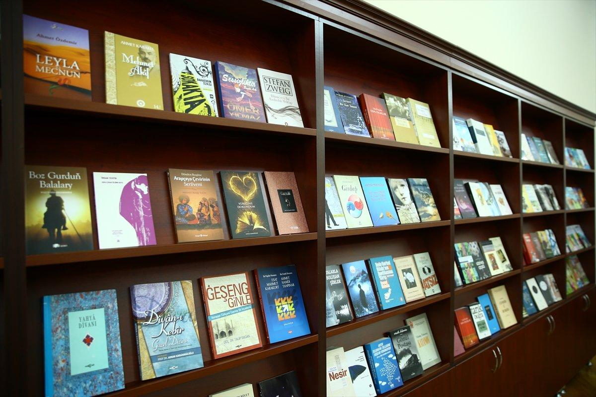 Türkiye den Karabağ daki kütüphanelere 10 bin kitap bağışı #5