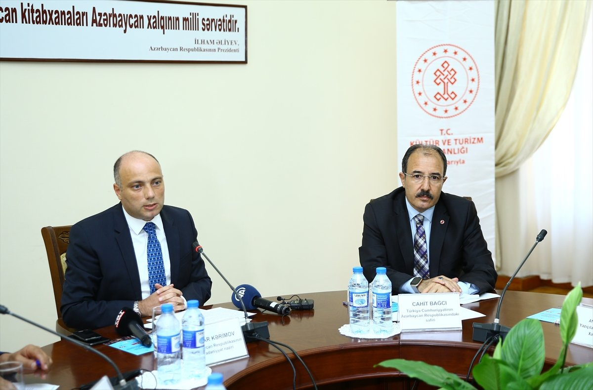 Türkiye den Karabağ daki kütüphanelere 10 bin kitap bağışı #3