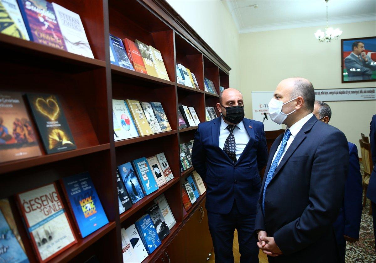 Türkiye den Karabağ daki kütüphanelere 10 bin kitap bağışı #4