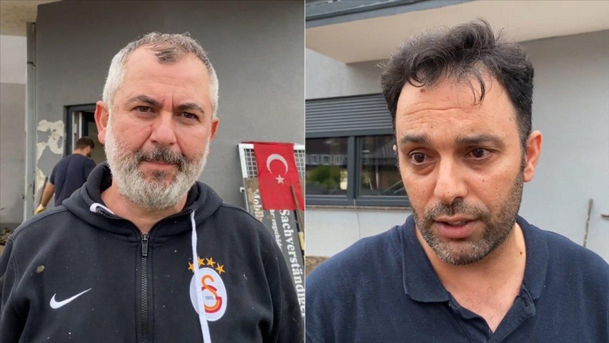 Almanya'da selden etkilenen Türkler: Dua etmekten başka çaremiz yoktu #1