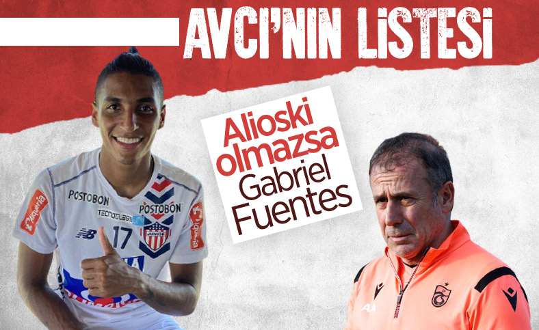 Trabzonspor listesine Fuentes'i aldı