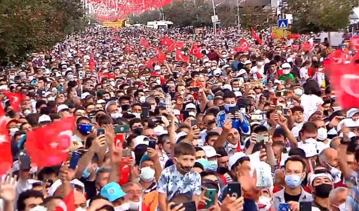 Cumhurbaşkanı Erdoğan, 979 milyonluk Erzurum Şehir Hastanesi ni açtı #1