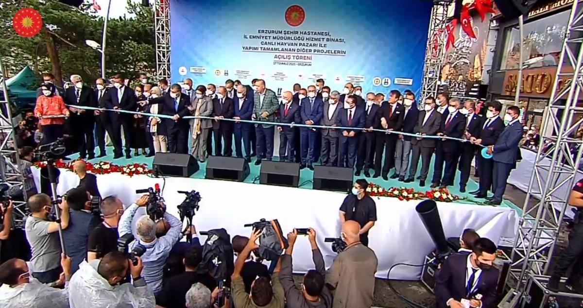 Cumhurbaşkanı Erdoğan, 979 milyonluk Erzurum Şehir Hastanesi ni açtı #2