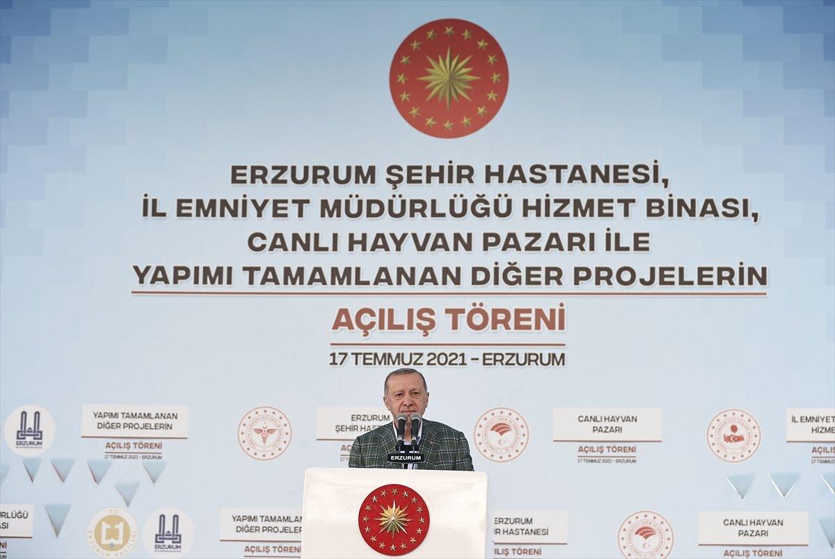 Cumhurbaşkanı Erdoğan, 979 milyonluk Erzurum Şehir Hastanesi ni açtı #4