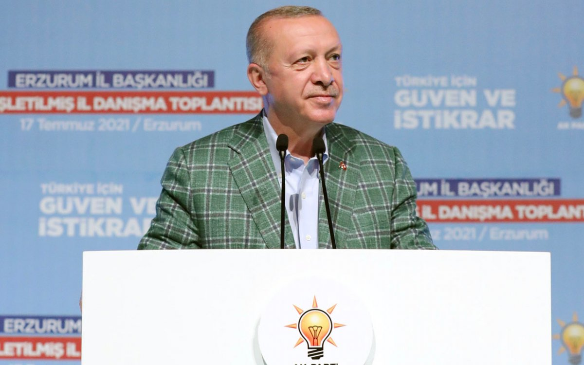 Cumhurbaşkanı Erdoğan: Cudi yi, Gabar ı, Tendürek i teröristlerin başına geçirdik #1