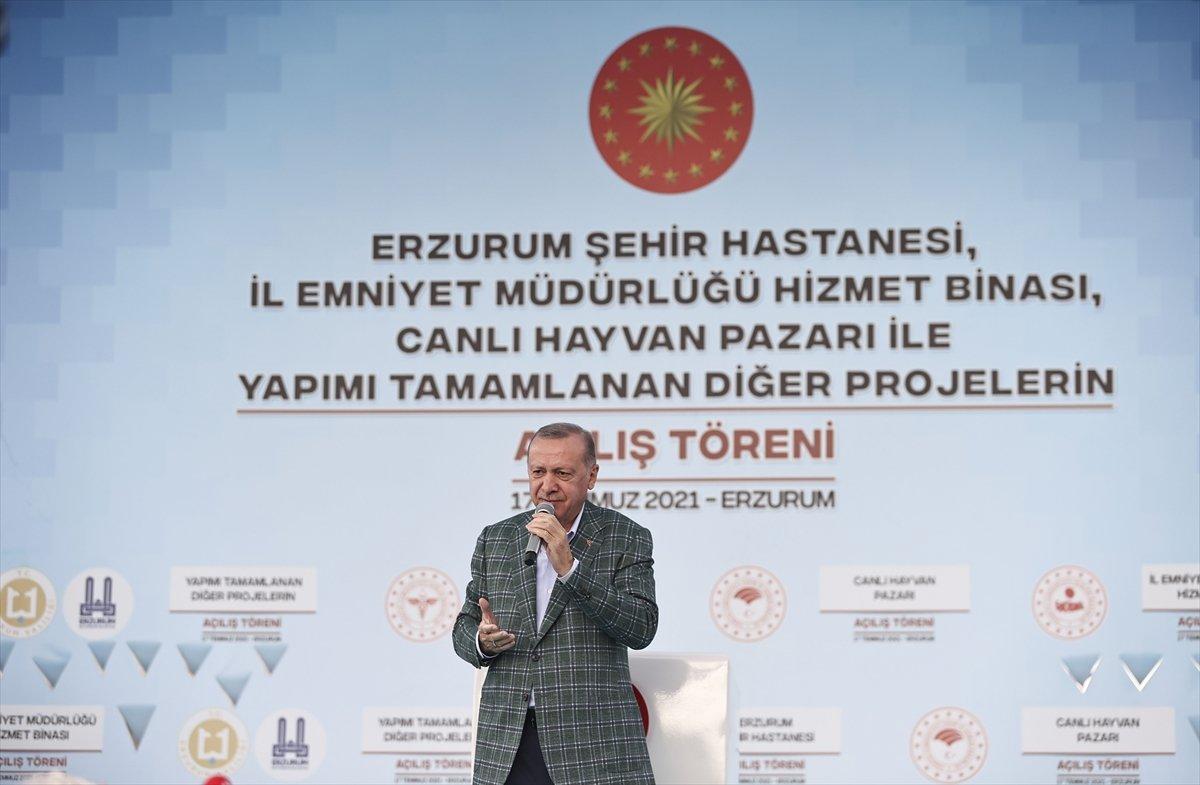 Cumhurbaşkanı Erdoğan: Cudi yi, Gabar ı, Tendürek i teröristlerin başına geçirdik #3
