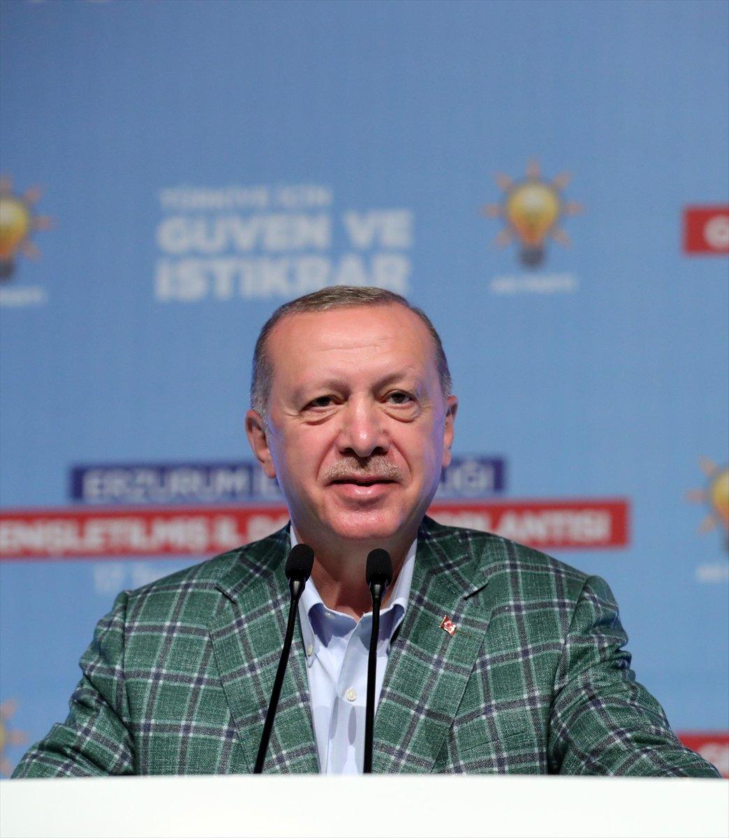 Cumhurbaşkanı Erdoğan ın, AK Parti Erzurum İl Danışma Toplantısı ndaki konuşması #1