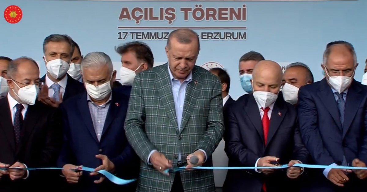 Cumhurbaşkanı Erdoğan, 979 milyonluk Erzurum Şehir Hastanesi ni açtı #3