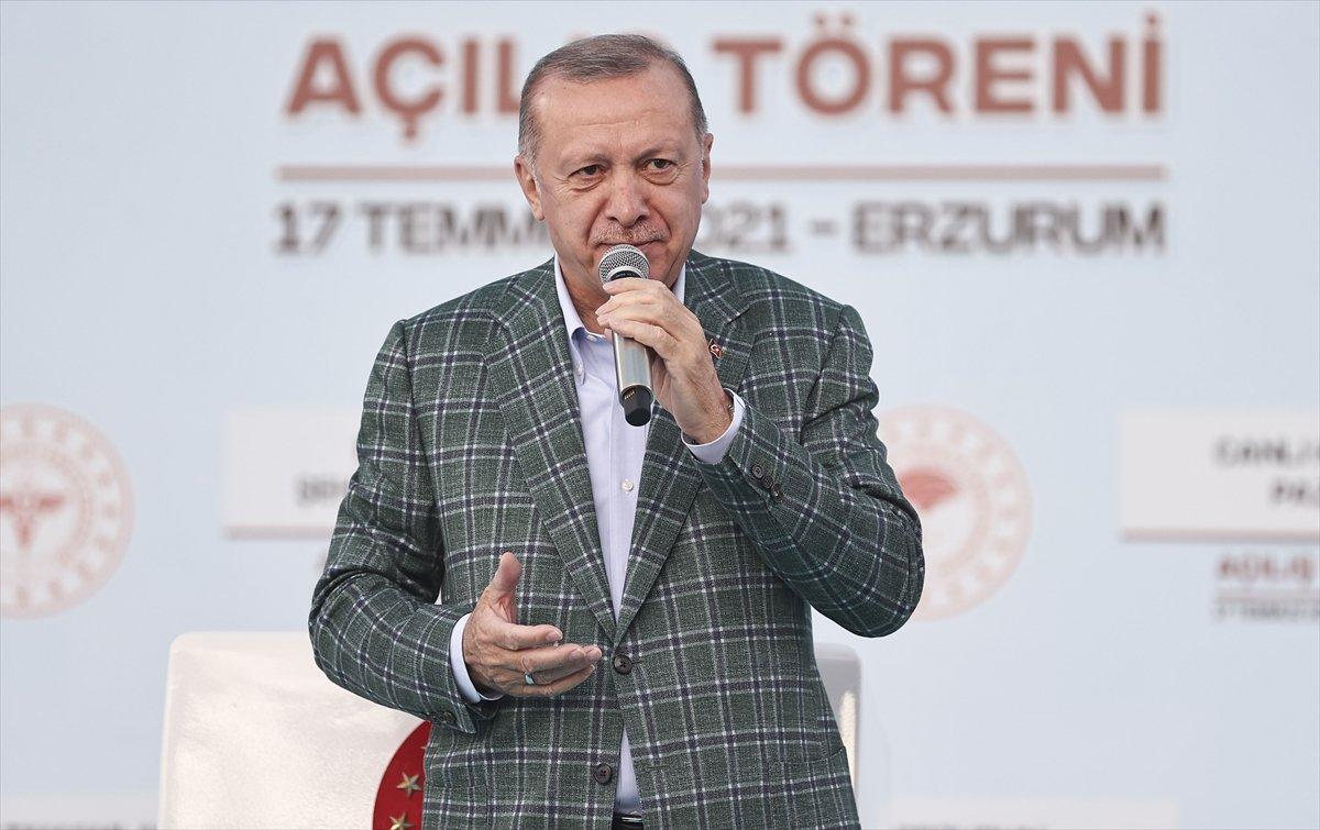 Cumhurbaşkanı Erdoğan, 979 milyonluk Erzurum Şehir Hastanesi ni açtı #5