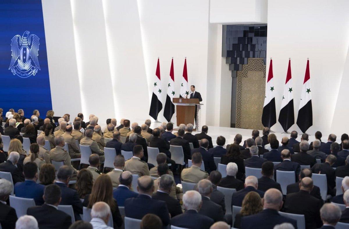 Esad dan Suriyelilere geri dönün çağrısı #1