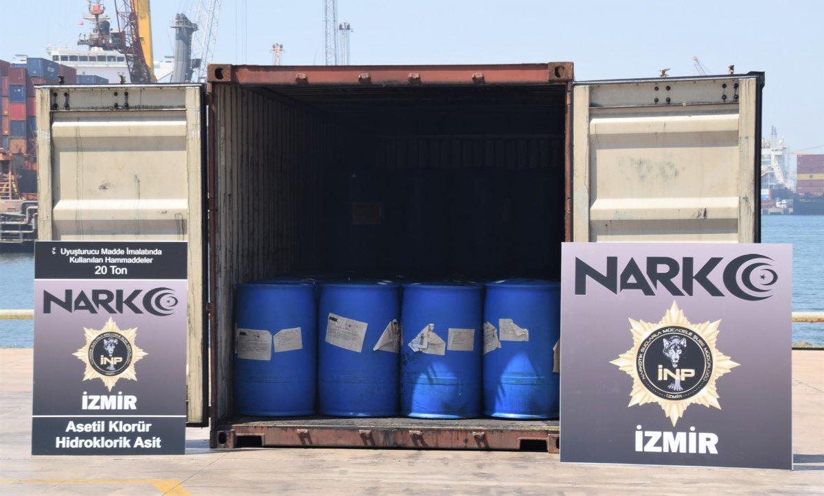Çin'den gelen konteynerde 26 ton kimyasal madde yakalandı #4