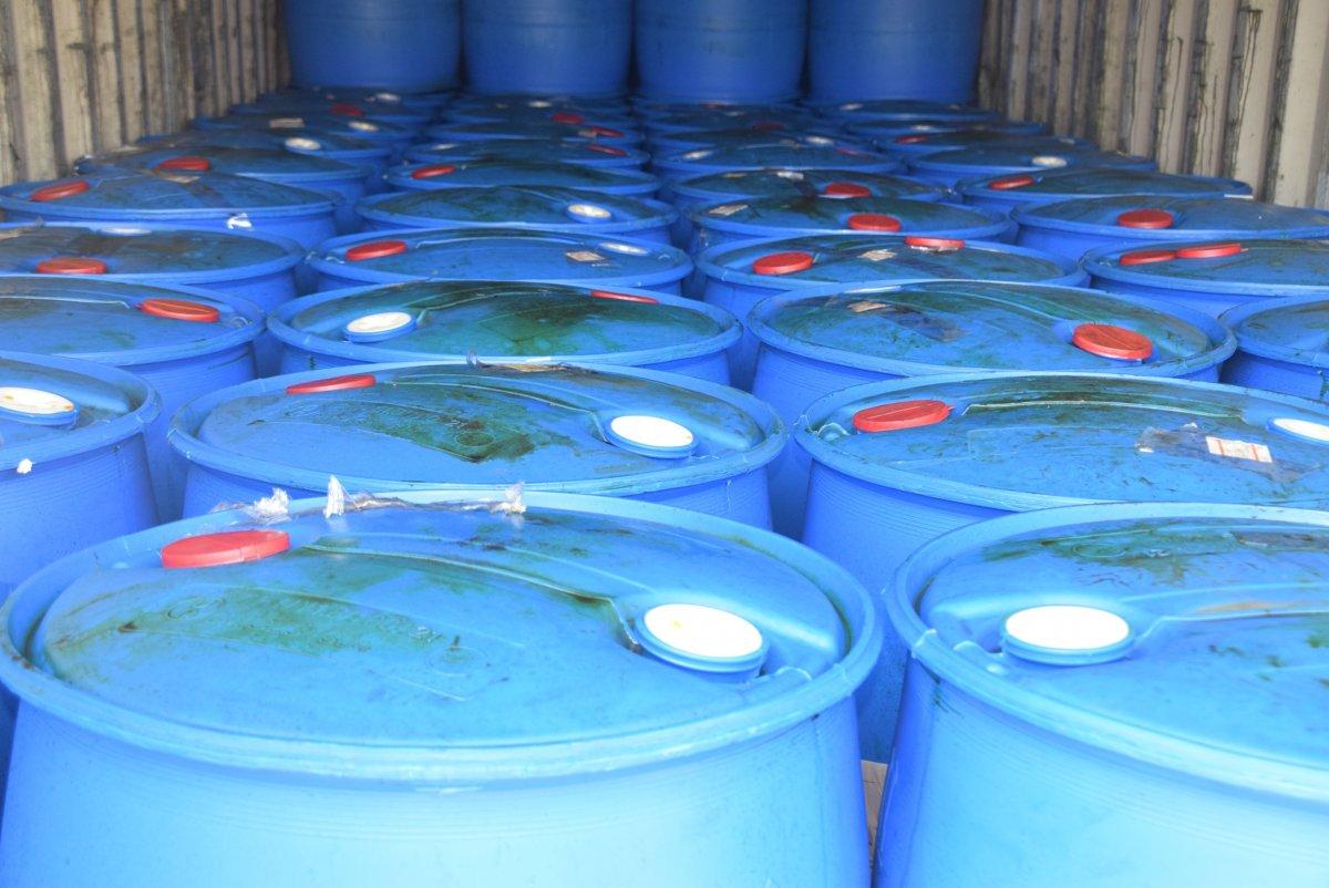 Çin'den gelen konteynerde 26 ton kimyasal madde yakalandı #2