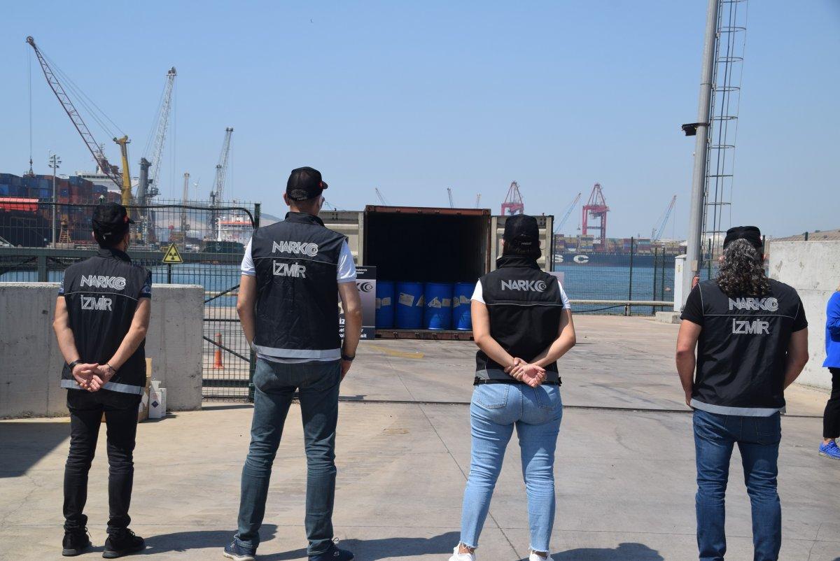 Çin'den gelen konteynerde 26 ton kimyasal madde yakalandı #3