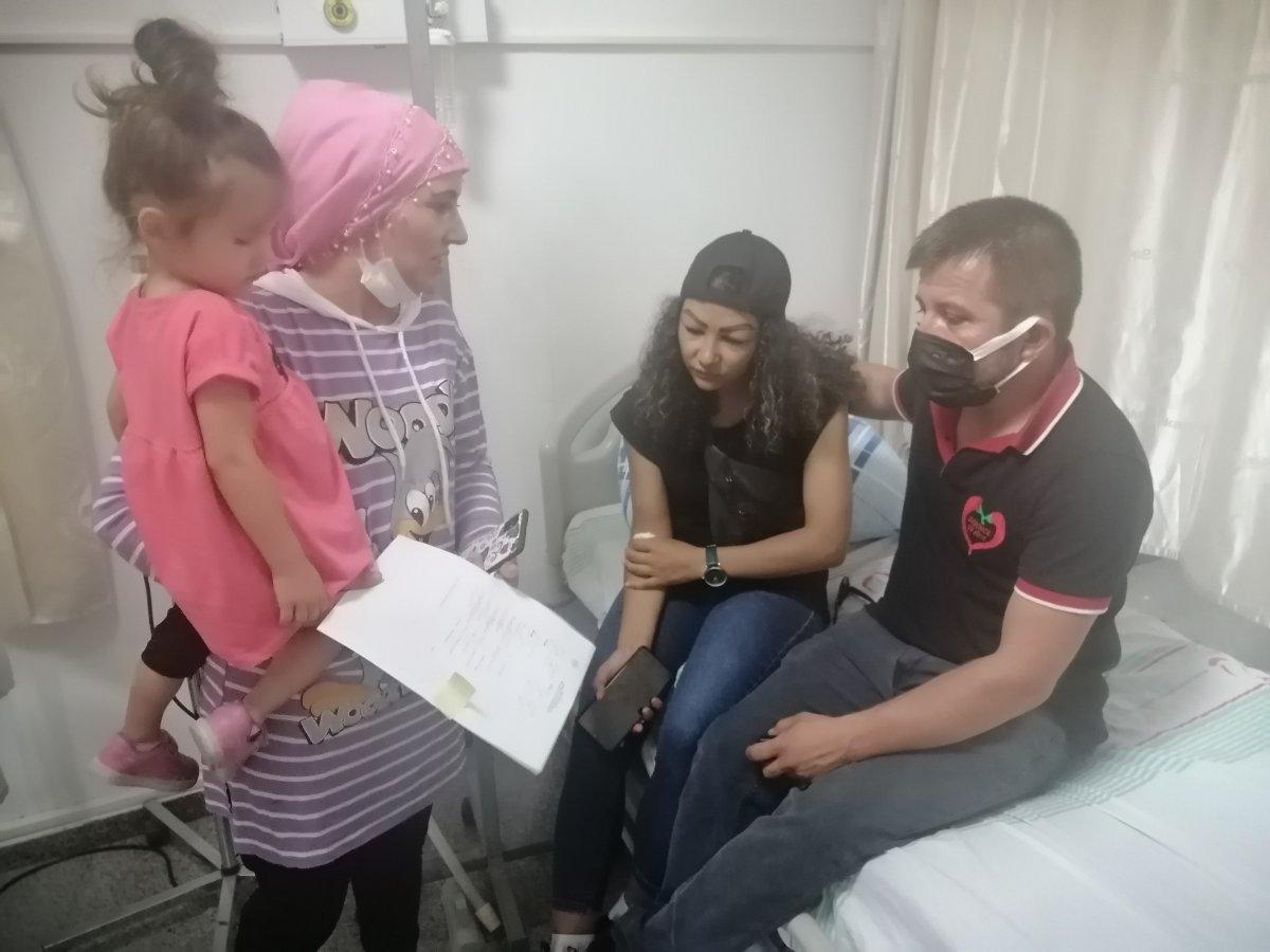 Aksaray da reklam yüzü olmaya gitti, hastanelik oldu #4